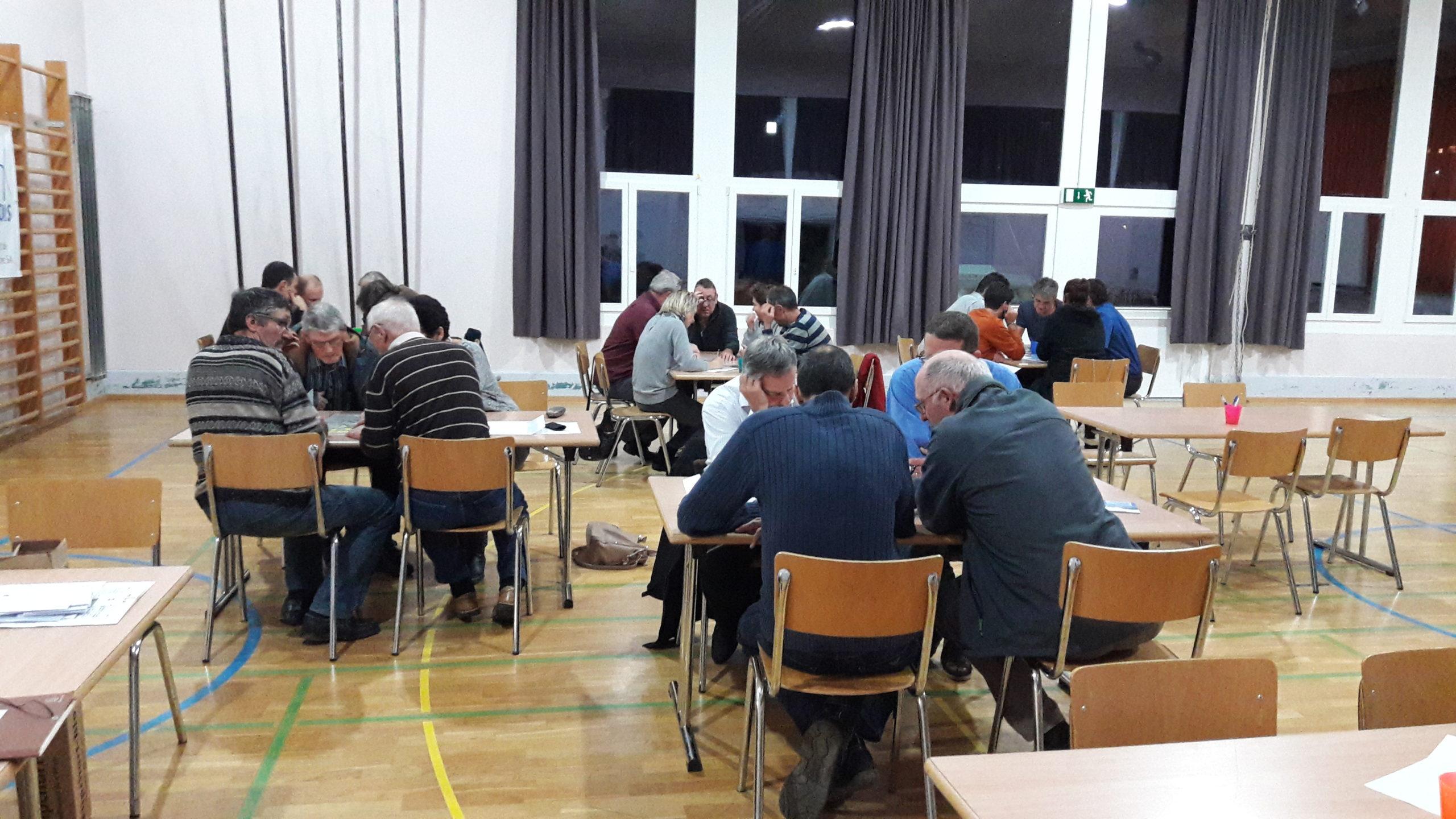 2ème soirée participative avec la population de Bavois